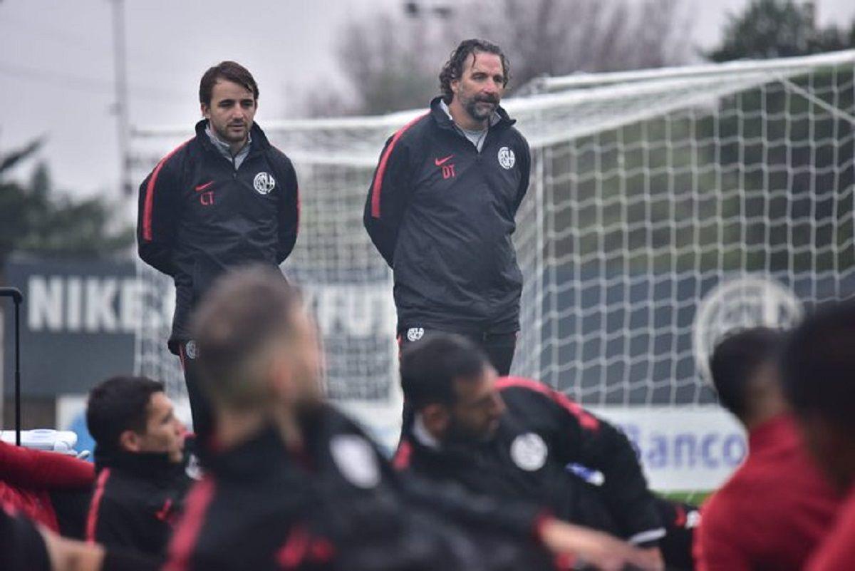 Juan Antonio Pizzi entrenamiento San Lorenzo