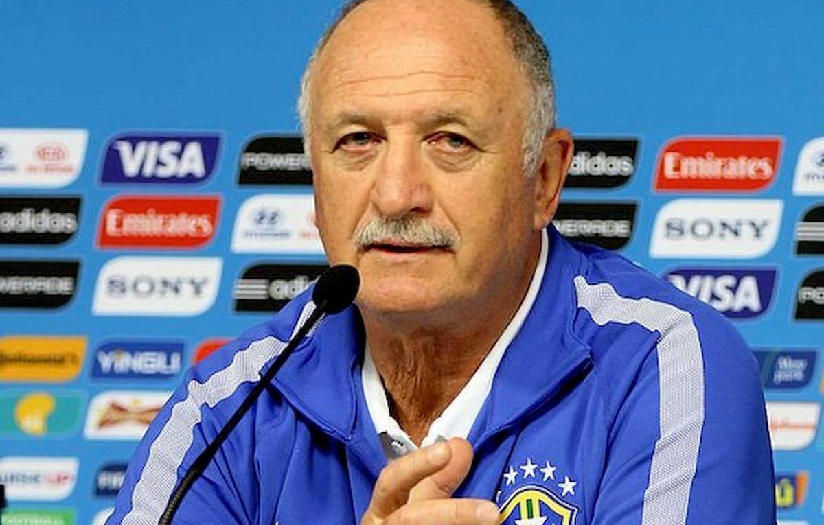 Luiz Felipe Scolari técnico de Brasil 2002