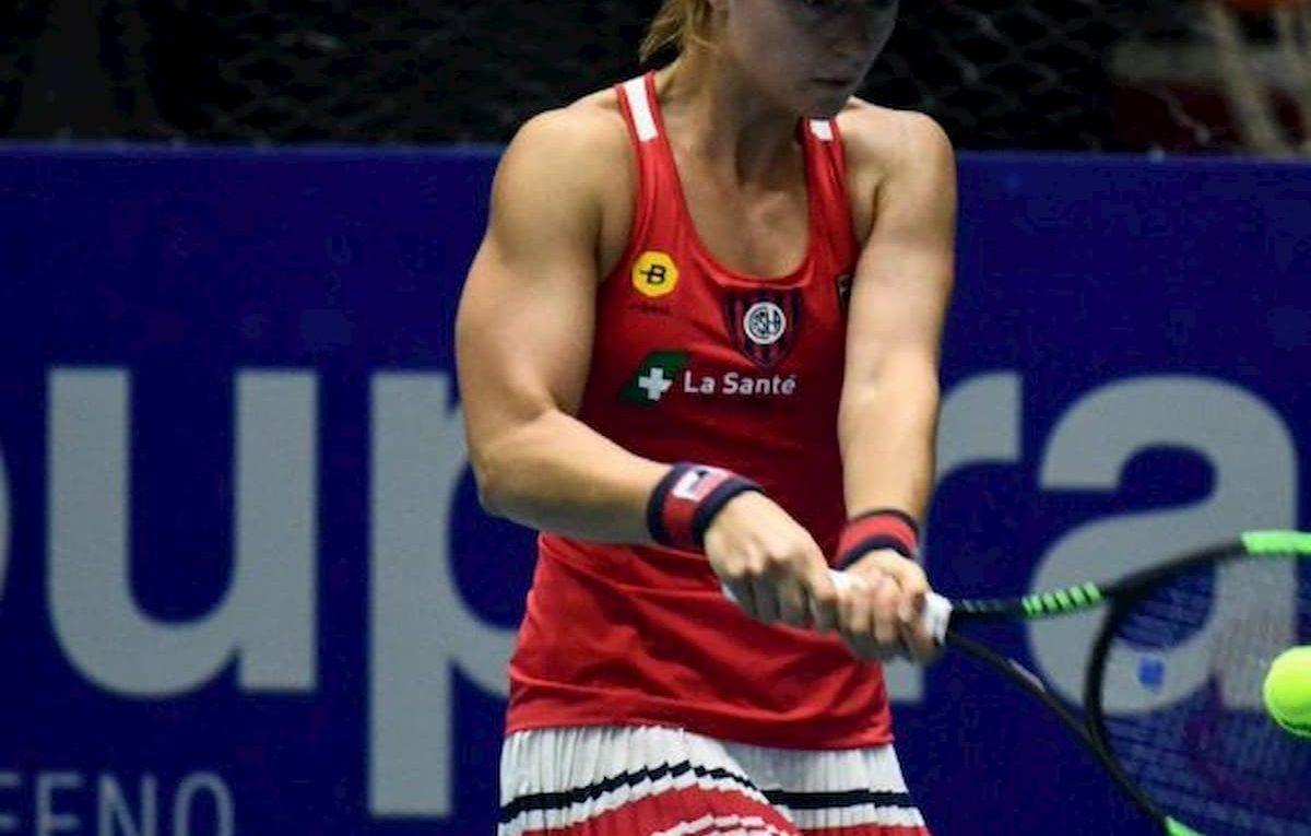 Nadia Podoroska tenista cuerva
