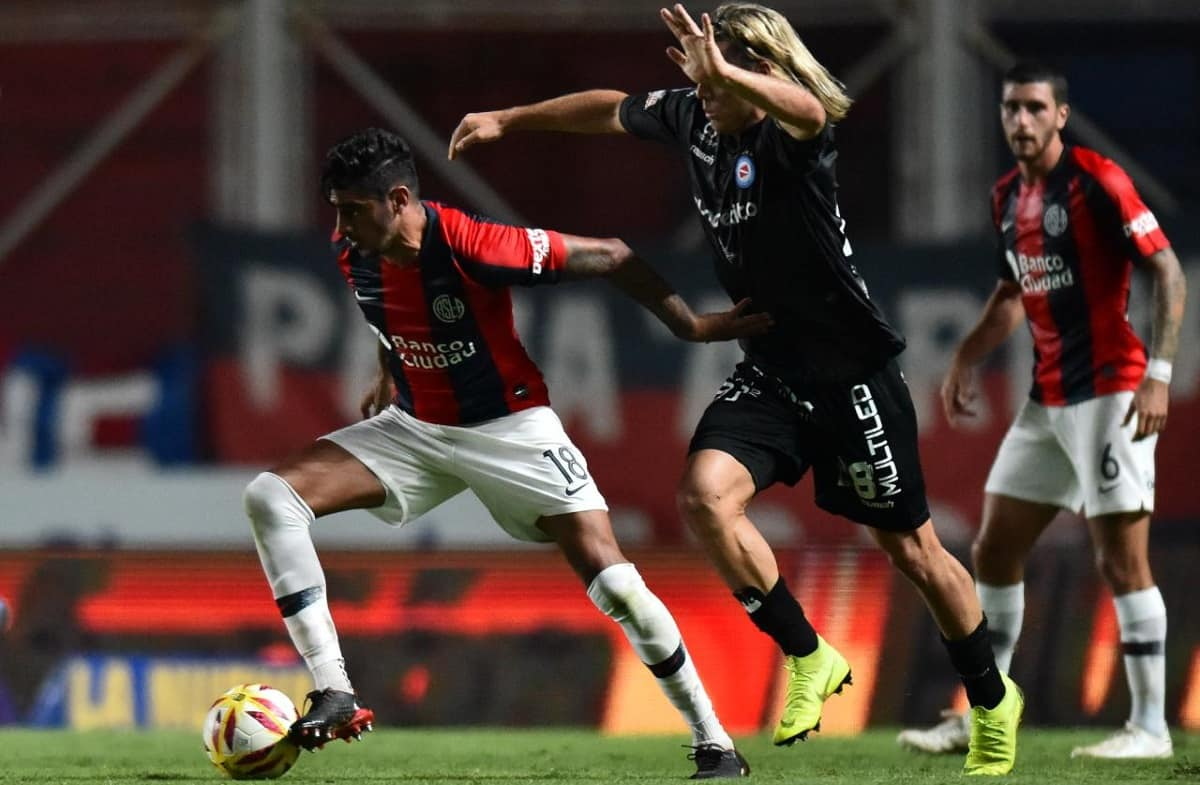 argentinos juniors vs san lorenzo de almagro copa de la superliga