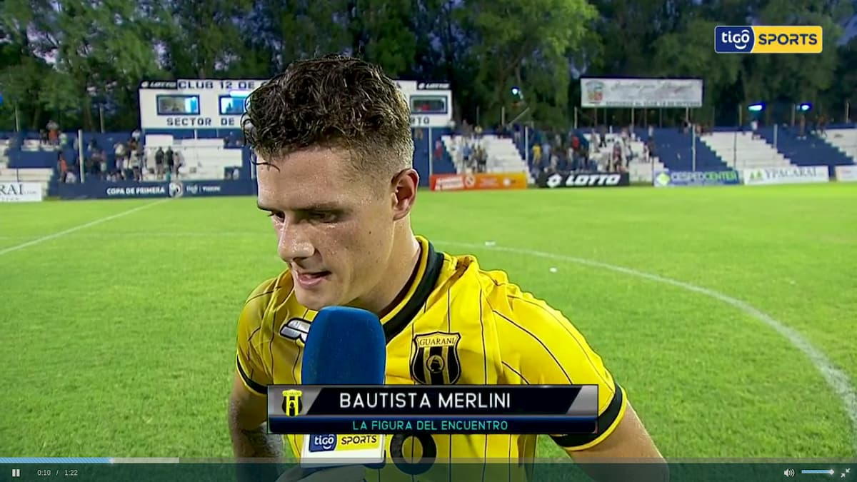 bautista merlini guaraní