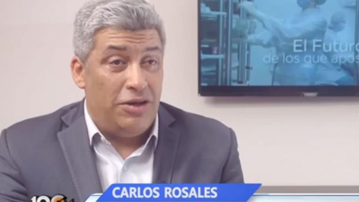 Carlos Rosales, protesorero del Club