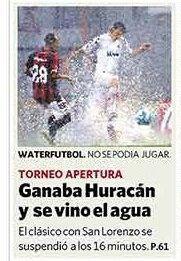 clásico año 2008 suspendido huracan