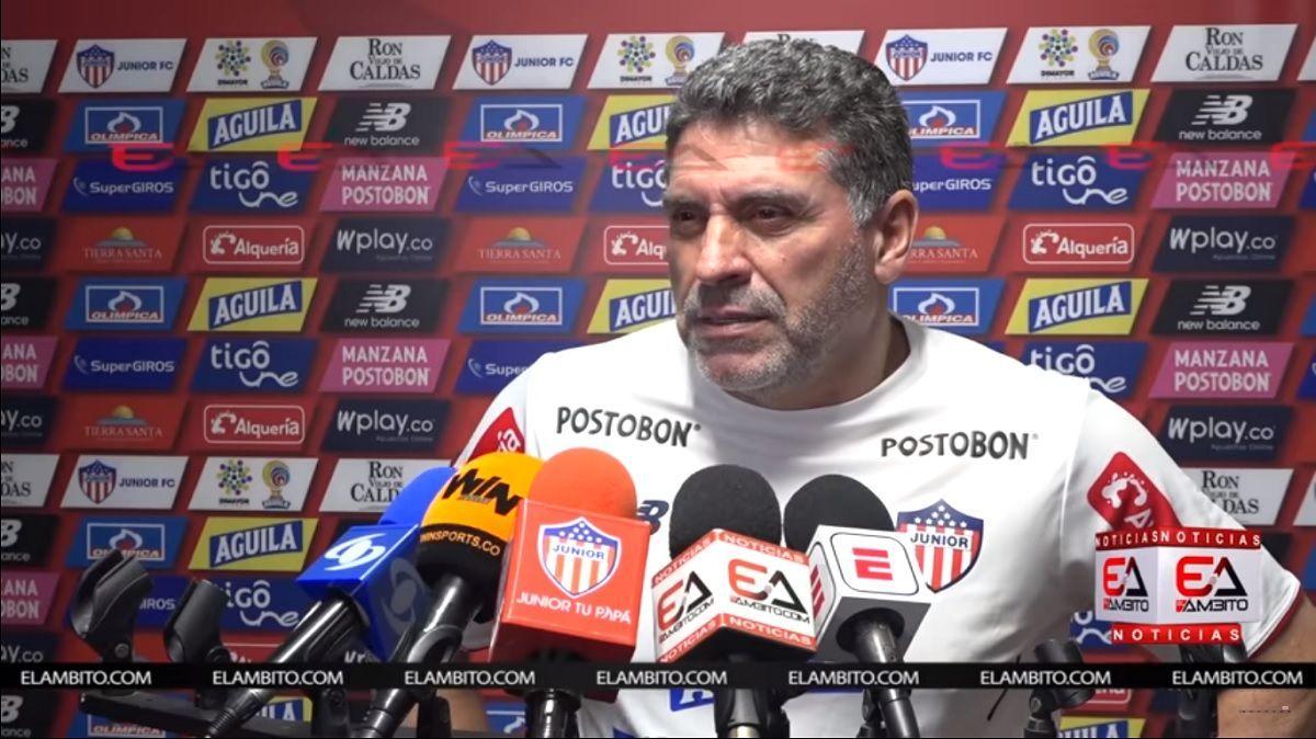 entrenador junior colombia