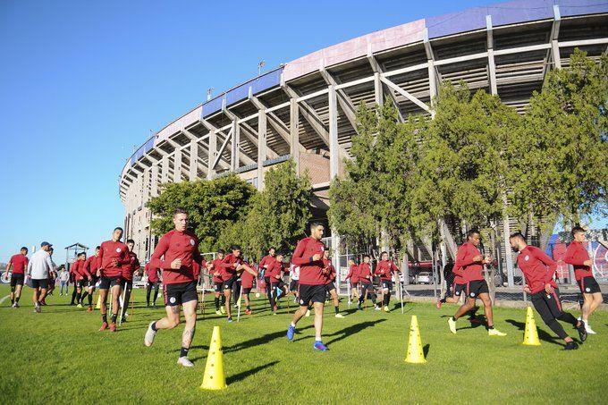 entrenamiento ciudad deportiva san lorenzo
