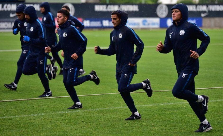 entrenamiento para copa argentina temperley