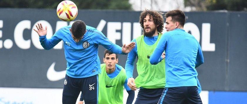 entrenamiento san lorenz oestudiantes copa argentina