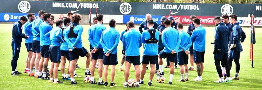 entrenamiento san lorenzo atletico tucuman