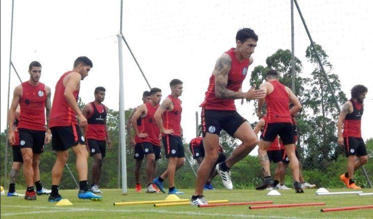 entrenamiento san lorenzo brasil