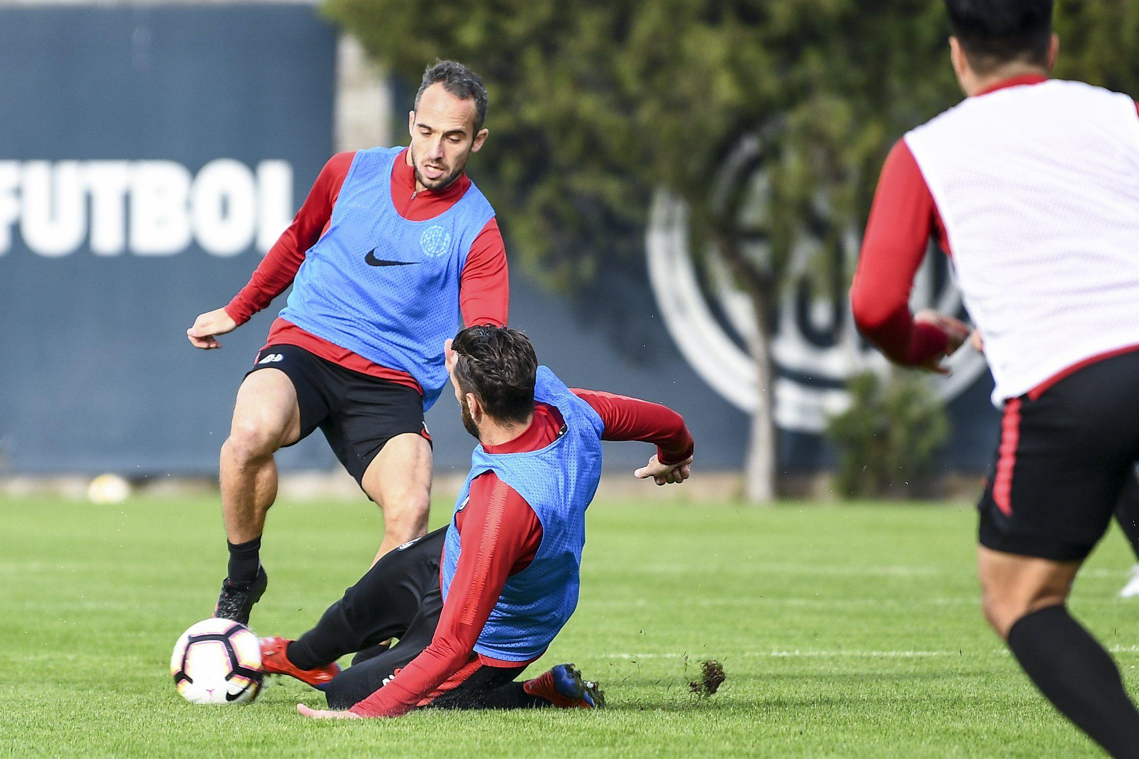 entrenamiento san lorenzo fútbol