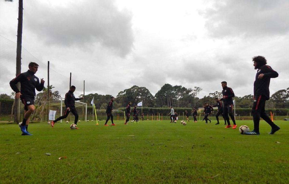 entrenamiento san lorenzo uruguay