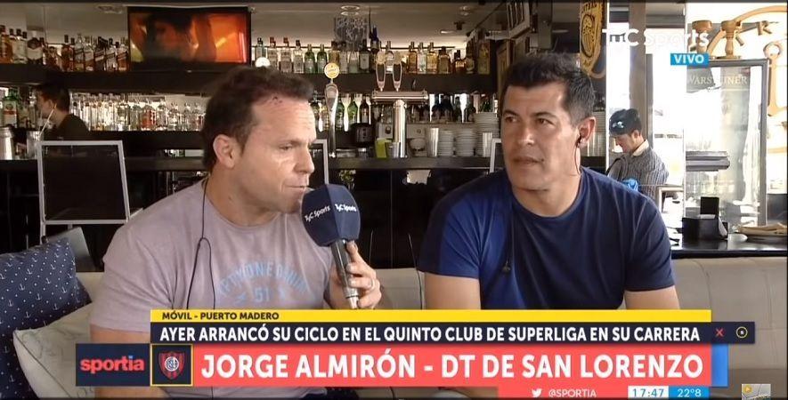 entrevista jorge almirón