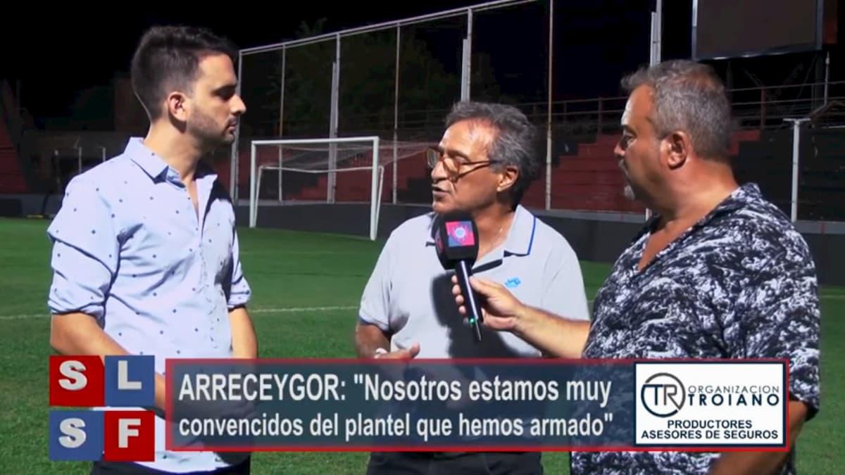 Horacio Arreceygor Vice Presidente en San Lorenzo Sin Fronteras