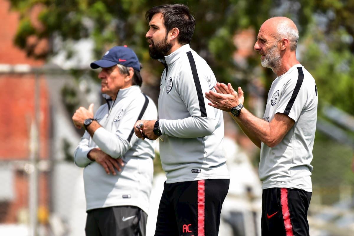Con algunas bajas San Lorenzo se entrena durante el receso por Fecha FIFA - San Lorenzo Website