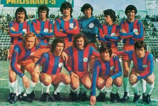 san lorenzo campeón nacional 1974