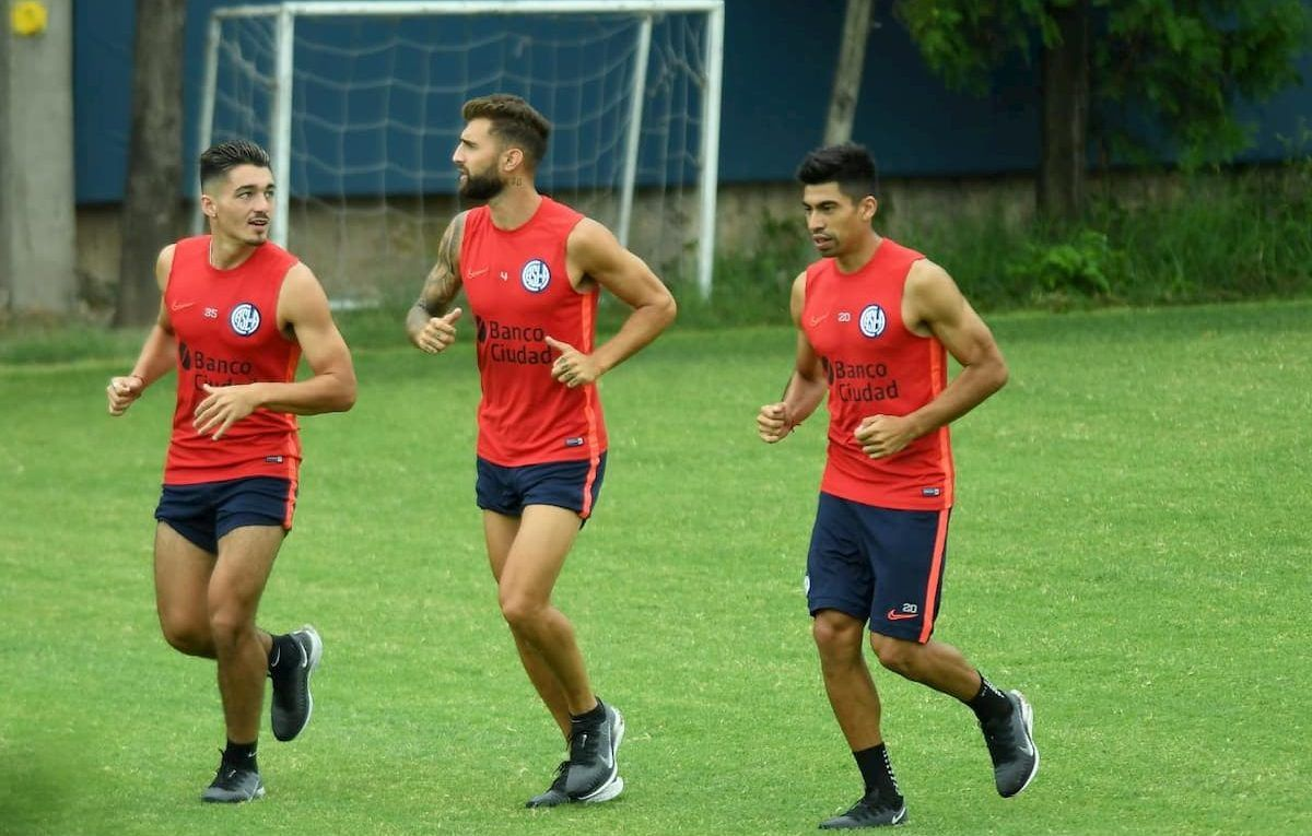 Matías Palacios, Gino Peruzzi, Juan Ramírez