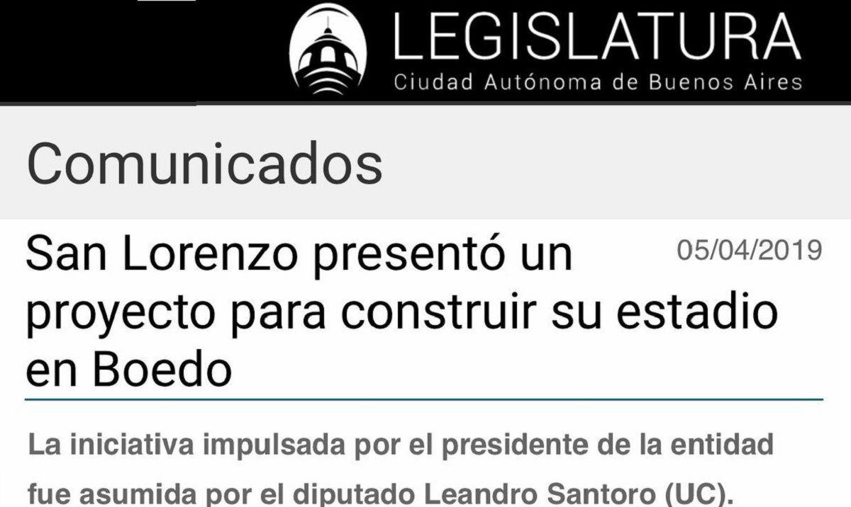 proyecto san lorenzo