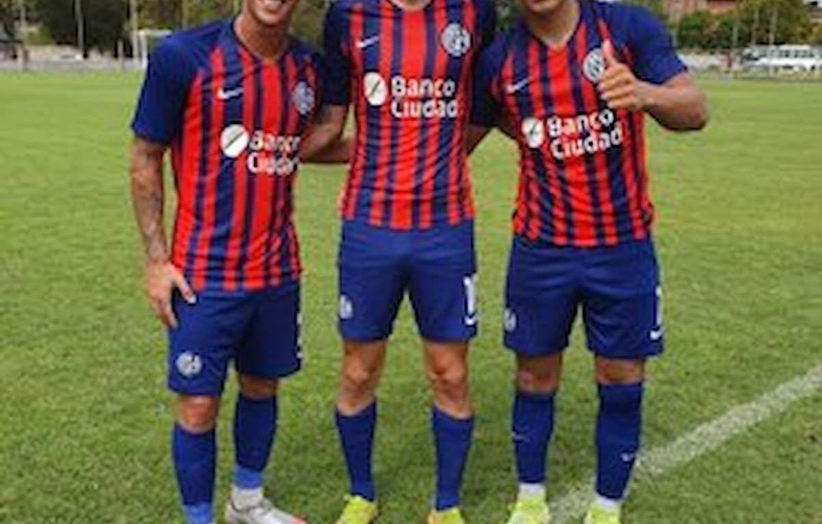 Agustín Martegani, Luis Sequeira y Laureano Cabral