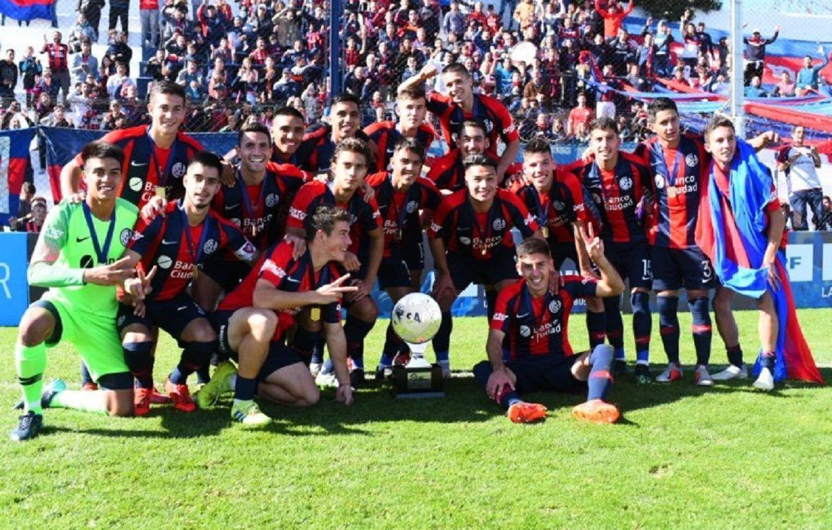 reserva san lorenzo copa superliga campeon