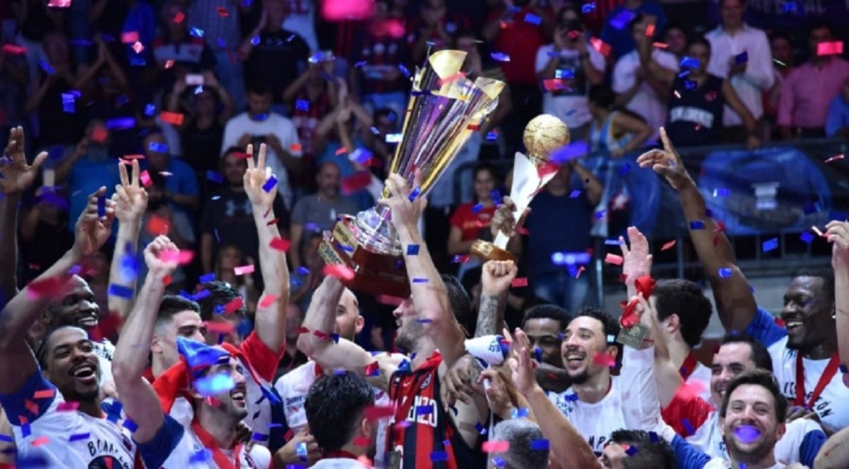 san lorenzo bicampeon basquet