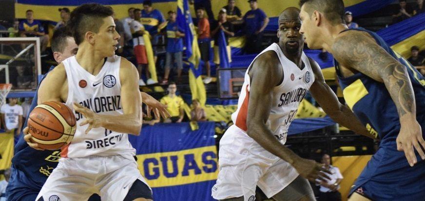 san lorenzo boca basquet