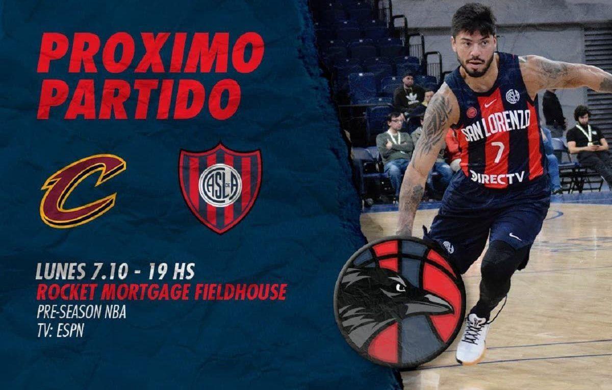 san lorenzo cavaliers basquet