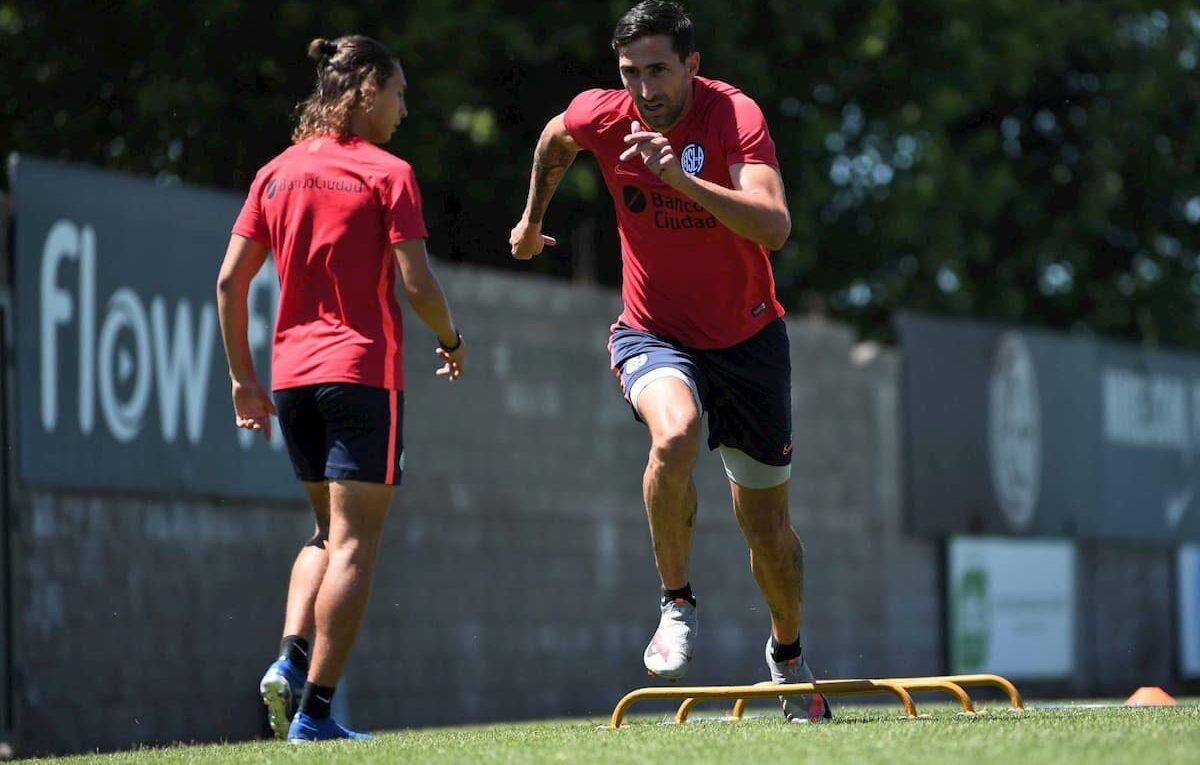 Pasaje del entrenamiento en Ciudad Deportiva
