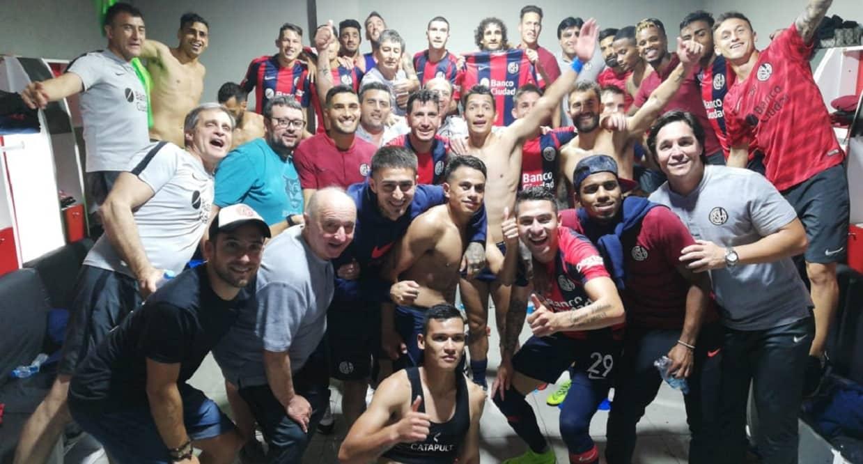 San Lorenzo venció a Huracán por penales