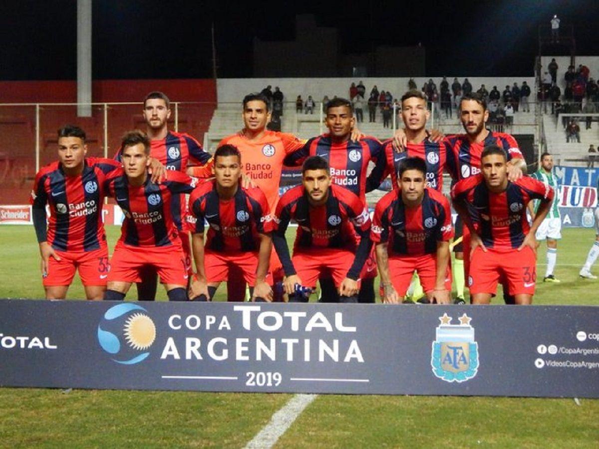 san lorenzo debut copa argentina