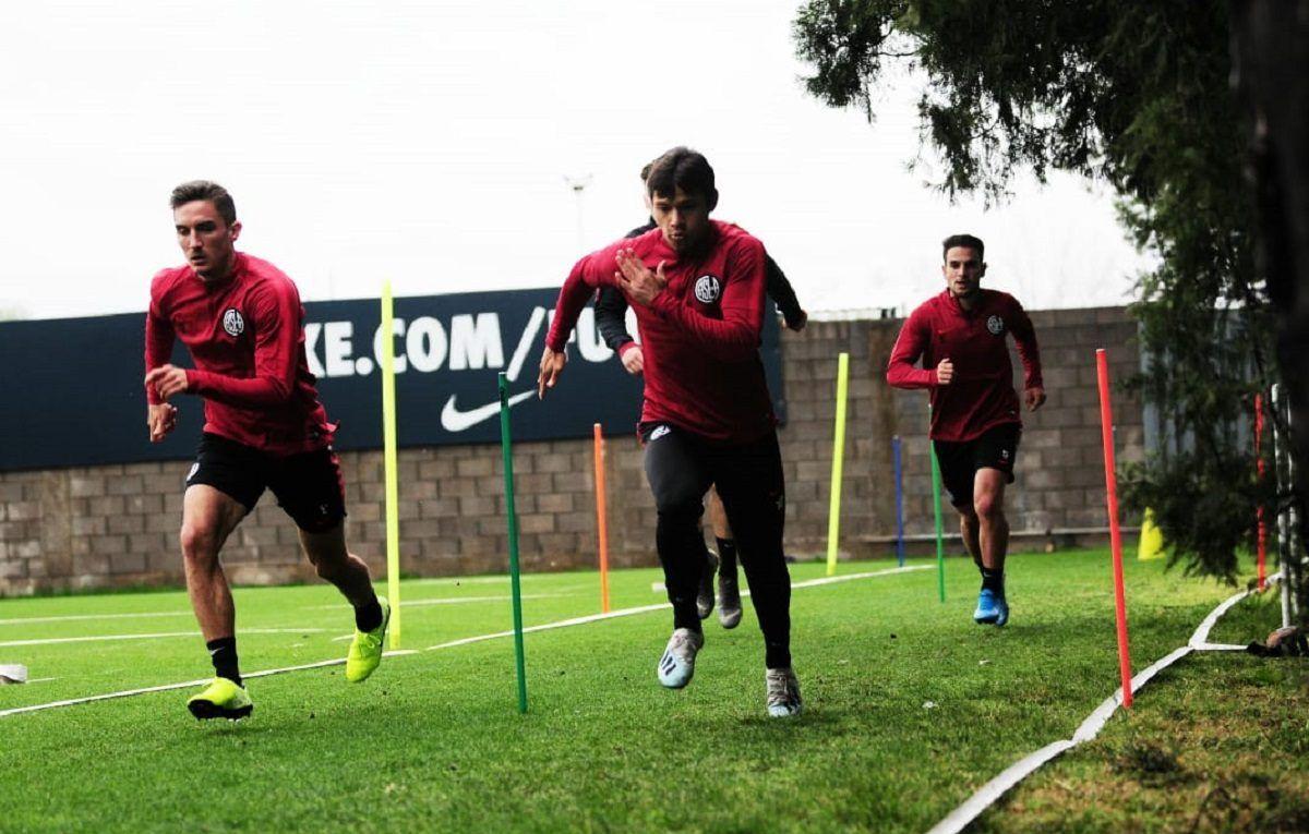 san lorenzo entrenamiento ciudad deportiva