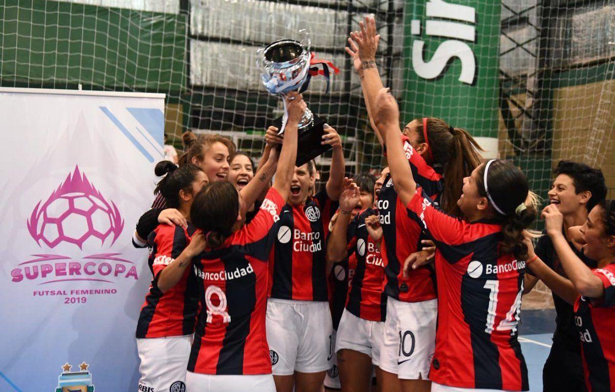 san lorenzo futsal femenino