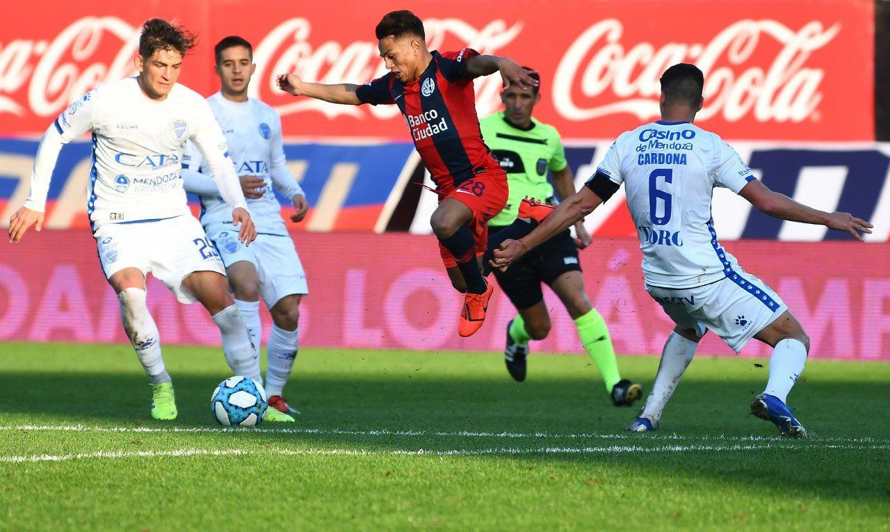 san lorenzo godoy cruz superliga