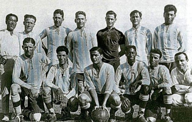 Formación de Argentina 1925
