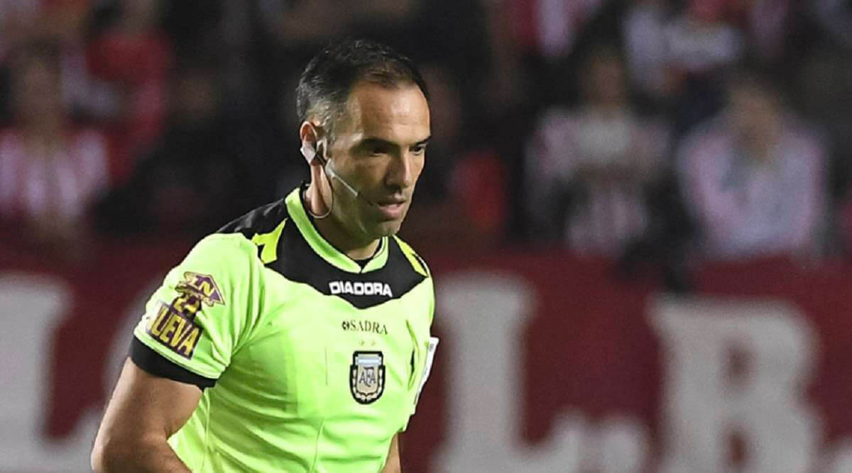 silvio trucco arbitro entre san lorenzo y godoy cruz