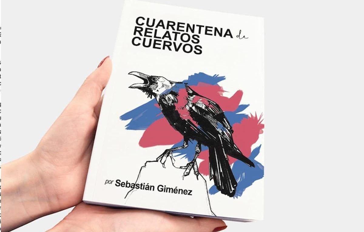 tapa del libro Cuarentena relatos cuervos
