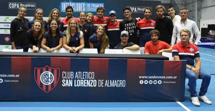 tenis san lorenzo 2018