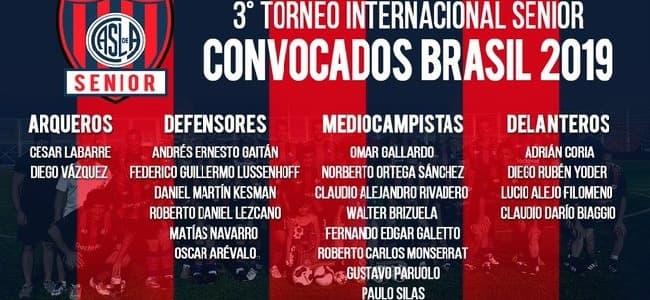3er Torneo Internacional Senior Brasil 2019