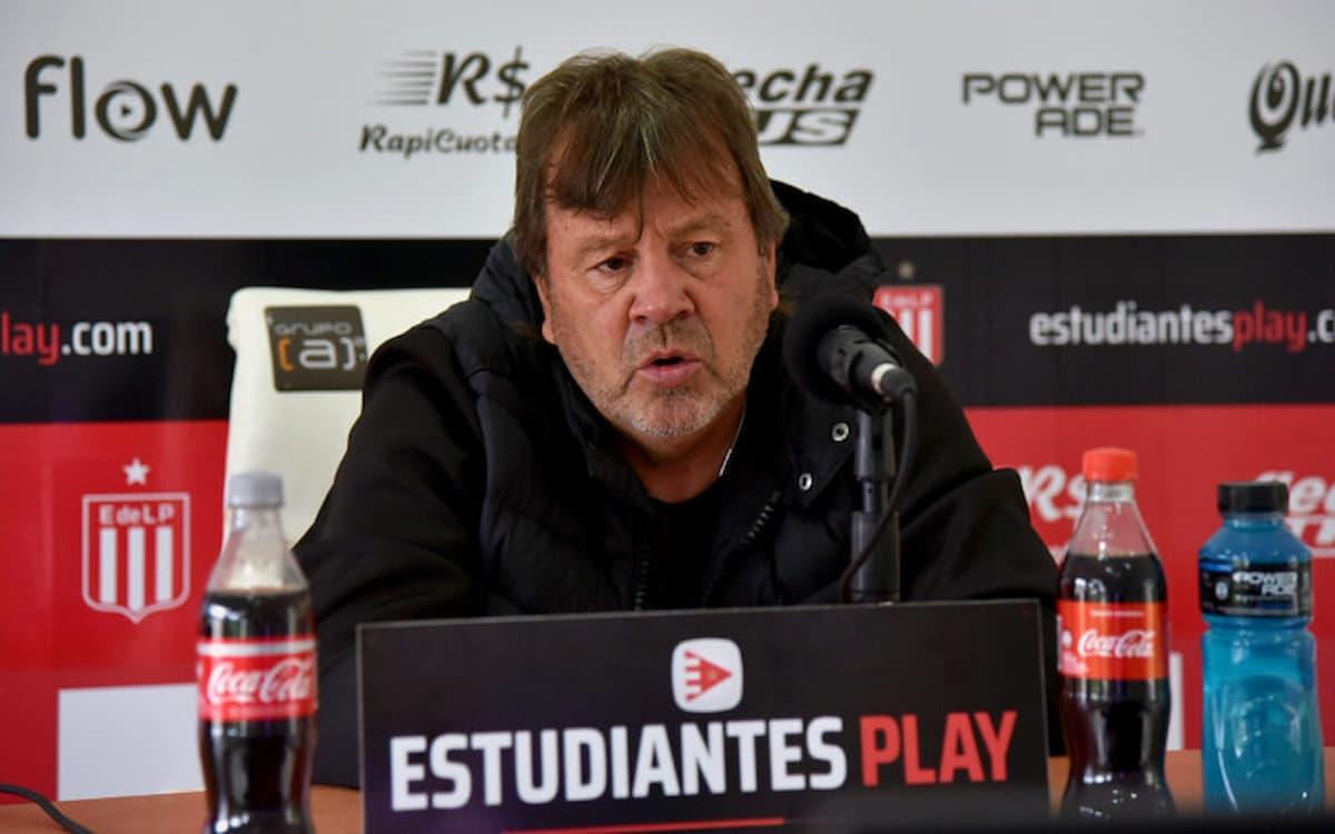 Ricardo Zielinski entrenador de Estudiantes de La Plata